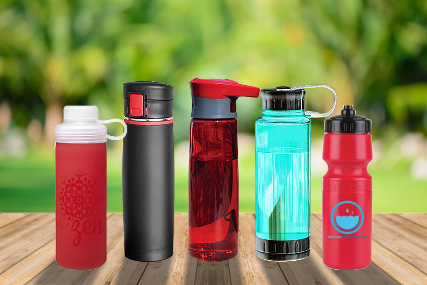 custom water bottles marketing