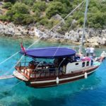 Harmonious Boat Ride in the Placid waters of Marmaris