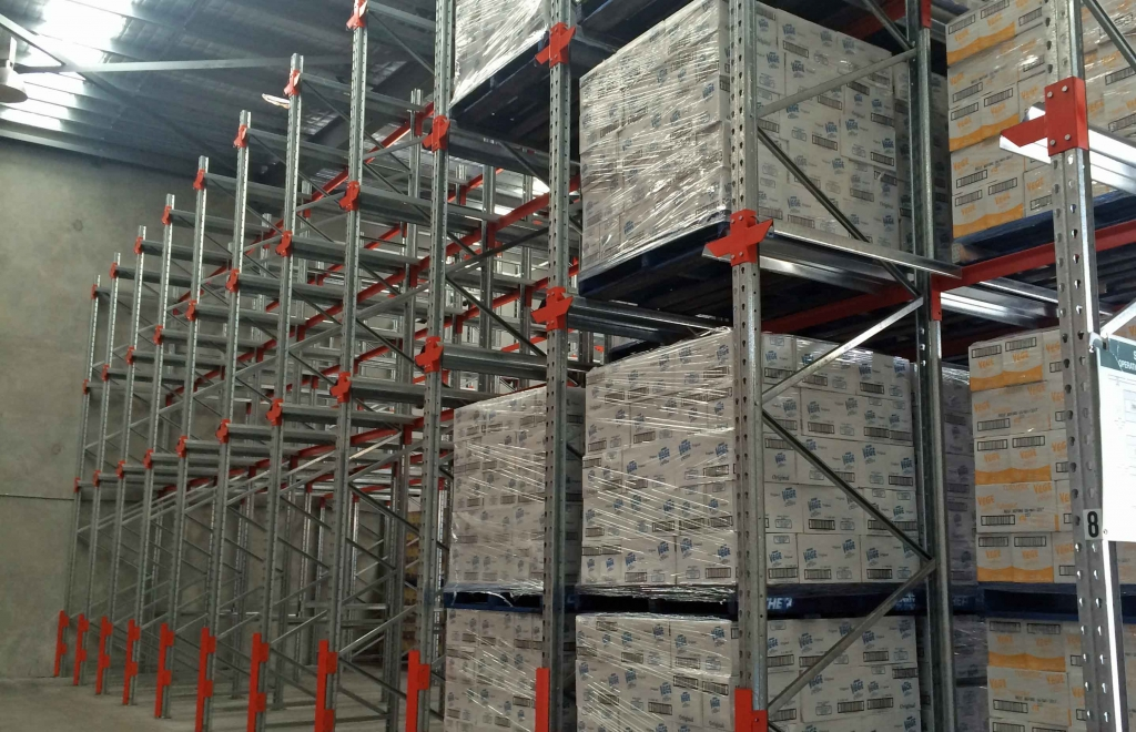 pallet racking in Brisbane