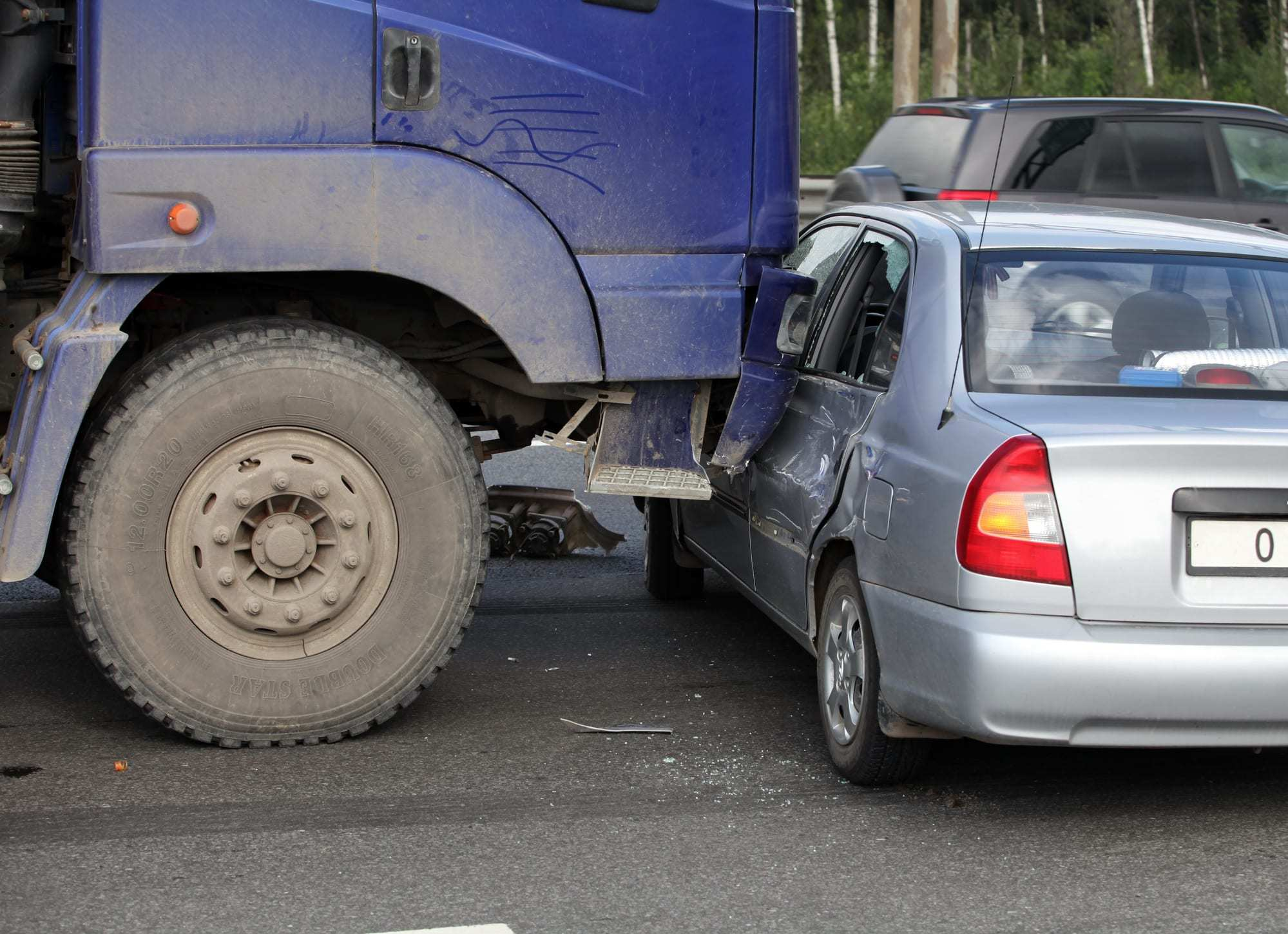 differences car trucking accidents
