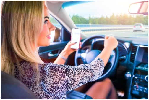 Avoid distracted drivers