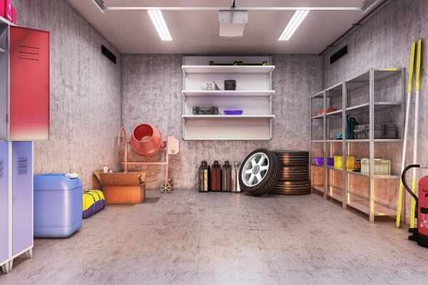 Garage Clean and Clutter-Free